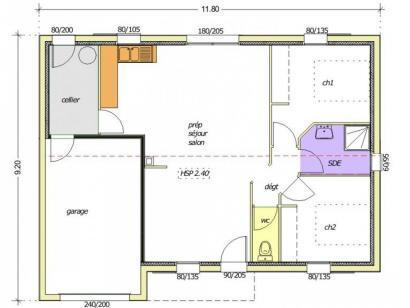 Maison neuve  à  La Châtaigneraie (85120)  - 148700 € * : photo 2