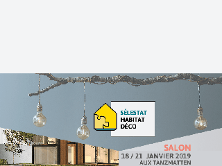 Maisons Brand participe au salon Habitat Déco à Sélestat du 18 au 21 janvier 2019