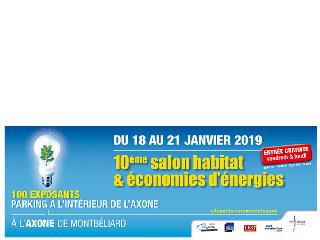 Maisons Brand participe au Salon de l'Habitat à Montbéliard du 18 au 21 janvier