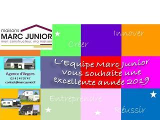 L'Equipe Marc Junior vous souhaite une excellente année 2019...