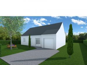 Maison neuve à Nazelles-Négron (37530)<span class='prix'> 168000 €</span> 168000