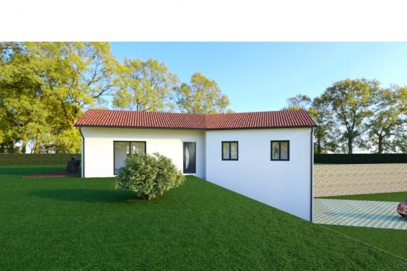 Modèle de maison ELLA 6 - 22° - dpts 87/46/24 - maison sur sous-sol 3 chambres  : Photo 1