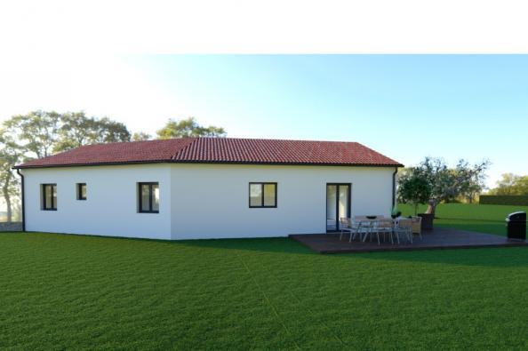 Modèle de maison ELLA 6 - 22° - dpts 87/46/24 - maison sur sous-sol 3 chambres  : Photo 2