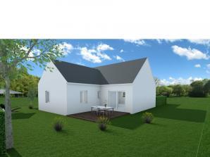 Maison neuve à La Ville-aux-Dames (37700)<span class='prix'> 194800 €</span> 194800