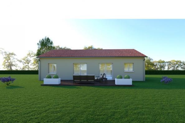 Modèle de maison VARIATION - 22° - dpts 87/46/24 - maison de plain 3 chambres  : Photo 1