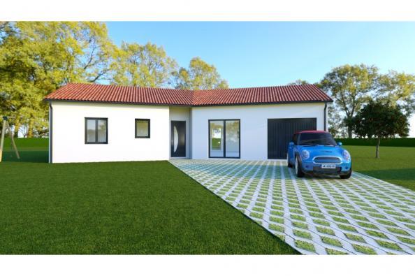Modèle de maison VEGA 5 - 22° - dpts 87/46/24 - maison de plain pie 3 chambres  : Photo 1
