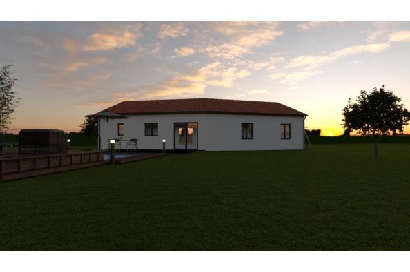 Modèle de maison VEGA 5 - 22° - dpts 87/46/24 - maison de plain pie 3 chambres  : Photo 2