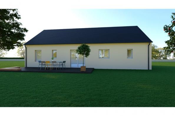 Modèle de maison WENGUE - 35° - dpts 19/23 - maison de plain pied - 3 chambres  : Photo 2