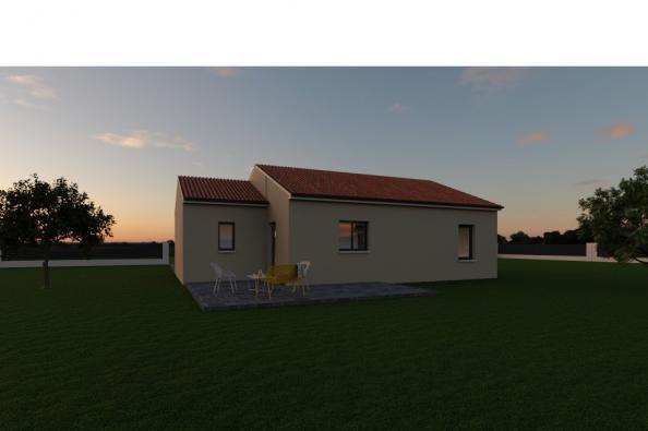 Modèle de maison PRIMA 4 AG - 22° - dpts 87/46/24 - maison de plain 2 chambres  : Photo 2