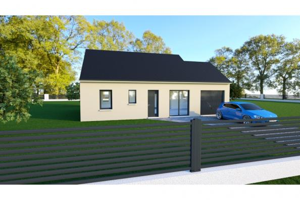 Modèle de maison PRIMA 4 AG - 35° - dpts 19/23 - maison de plain pi 2 chambres  : Photo 1