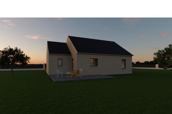 Modèle de maison PRIMA 4 AG - 35° - dpts 19/23 - maison de plain pi 2 chambres  : Photo 2