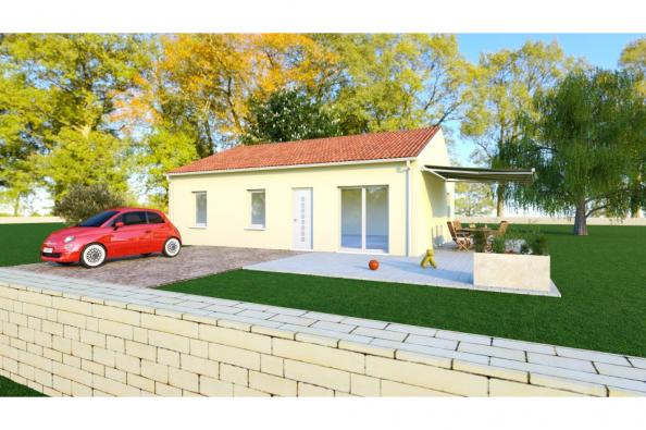 Modèle de maison PRIMA 5 SG - 22° - 87/46/24 - maison de plain pied 3 chambres  : Photo 1