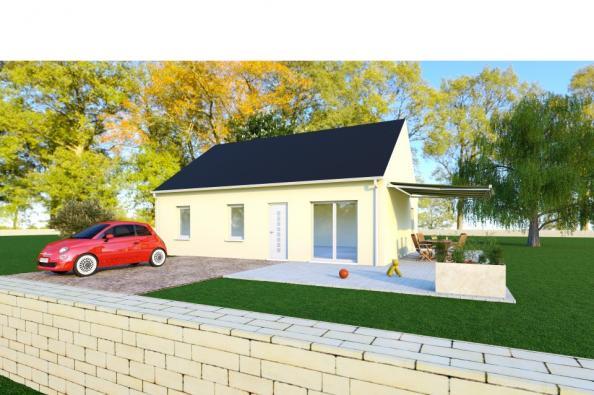 Modèle de maison PRIMA 5 SG - 35° - dpts 19/23 - maison de plain pi 3 chambres  : Photo 1