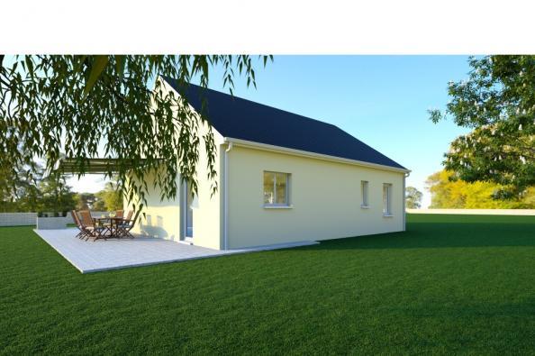 Modèle de maison PRIMA 5 SG - 35° - dpts 19/23 - maison de plain pi 3 chambres  : Photo 2