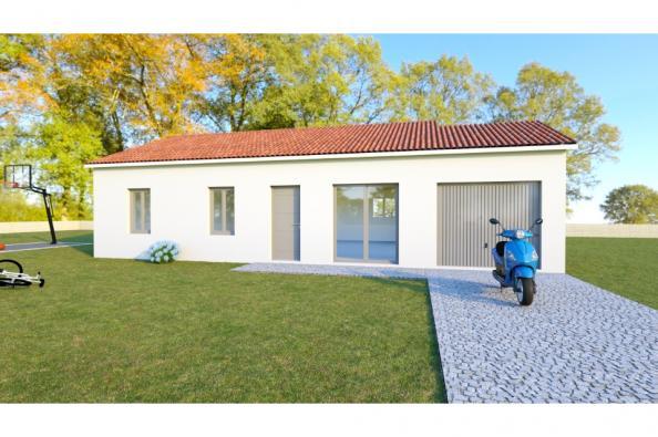 Modèle de maison PRIMA 5 AG - 22° - dpts 87/46/24 - maison de plain 3 chambres  : Photo 1