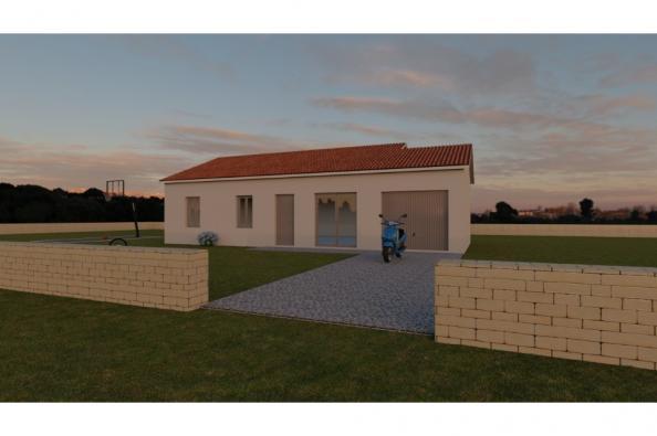 Modèle de maison PRIMA 5 AG - 22° - dpts 87/46/24 - maison de plain 3 chambres  : Photo 2