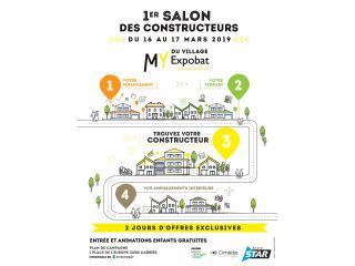 Azur et Constructions participe au 1er Salon des Constructeurs - My Expobat Plan de Campagne