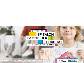 Salon Immobilier et habitat de Valenciennes (59) du 1er au 03 mars 2019