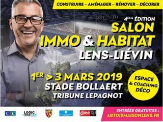 Salon Immo et Habitat de Lens / Liévin (62) du 1er au 03 mars 2019
