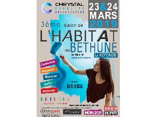 Salon de l'Habitat de Béthune (62) les 23 et 24 mars 2019