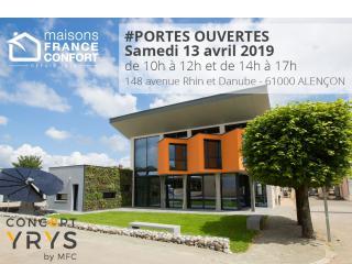Portes Ouvertes Concept YRYS à Alençon !