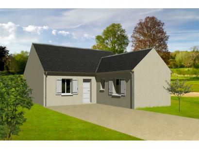 Maison neuve  à  Artannes-sur-Indre (37260)  - 146000 € * : photo 1