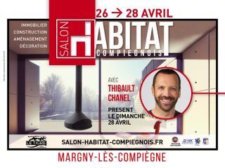 Salon de l'Habitat de COMPIEGNE (60) du 26 au 28 avril 2019