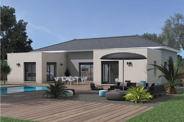 Modèle de maison Patio 140 Design 3 chambres  : Photo 1