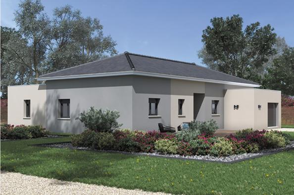 Modèle de maison Patio 140 Design 3 chambres  : Photo 2