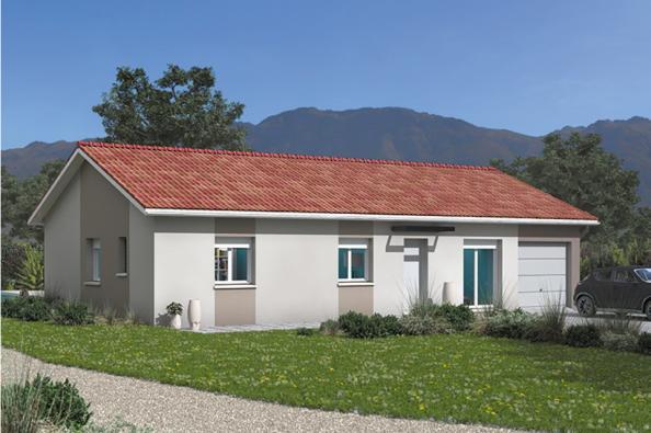 Modèle de maison Optima 100GA Tradition 4 chambres  : Photo 1