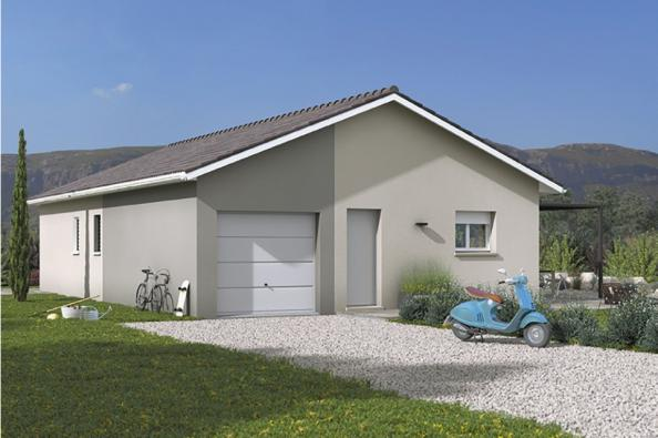 Modèle de maison Optima 110GI Design 4 chambres  : Photo 1