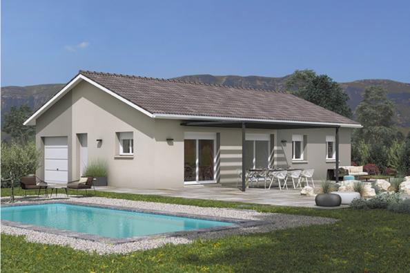 Modèle de maison Optima 110GI Design 4 chambres  : Photo 2