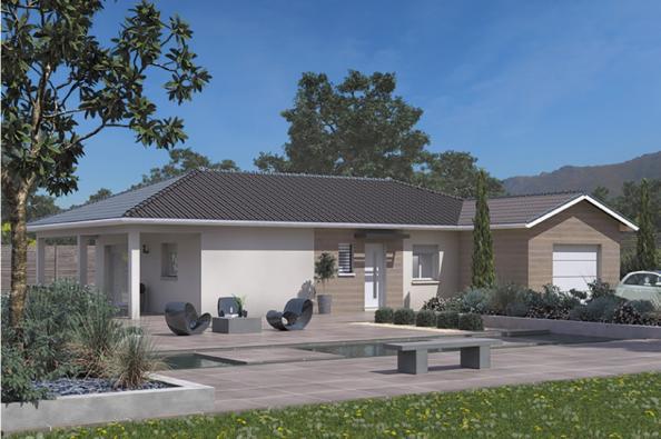Modèle de maison Lumina 90GI Design 3 chambres  : Photo 2