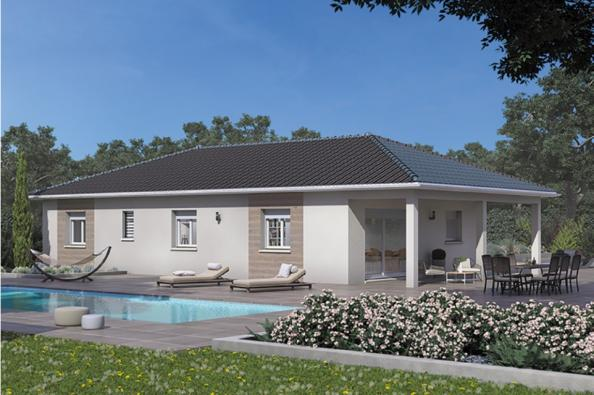 Modèle de maison Lumina 100GI Design 4 chambres  : Photo 1