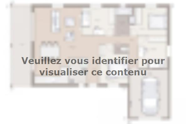 Plan de maison Lumina 100GI Design 4 chambres  : Photo 1