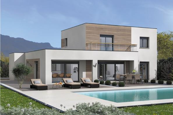 Modèle de maison Bioclima 110 Design 4 chambres  : Photo 1