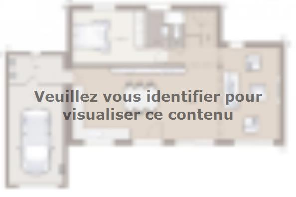 Plan de maison Bioclima 140 Tradition 4 chambres  : Photo 2