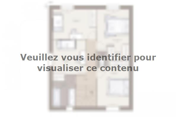 Plan de maison Family 100GI Tradition 4 chambres  : Photo 2