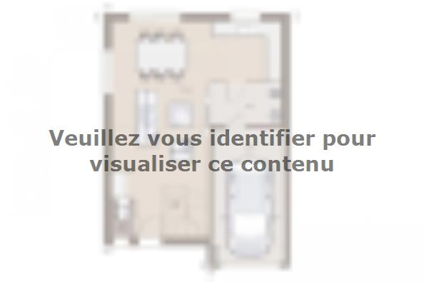 Plan de maison Family 100GI Design 4 chambres  : Photo 1