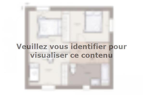 Plan de maison Family 85GA Tradition 3 chambres  : Photo 2