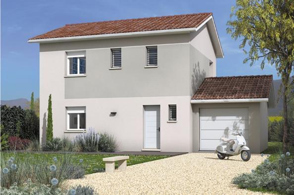 Modèle de maison Family 90GA Design 3 chambres  : Photo 2