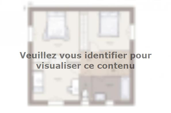 Plan de maison Family 95GA Tradition 3 chambres  : Photo 2