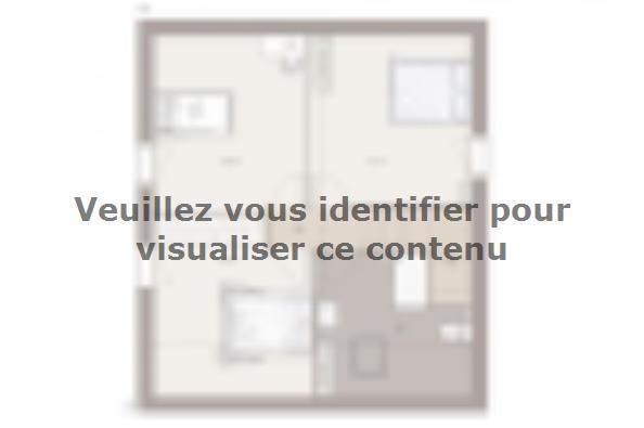 Plan de maison Family Evolution 90GA Tradition 3 chambres  : Photo 2