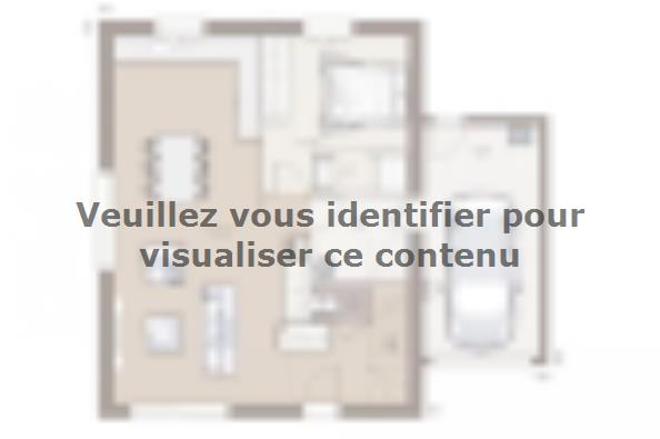 Plan de maison Family Evolution 100GA Tradition 4 chambres  : Photo 1