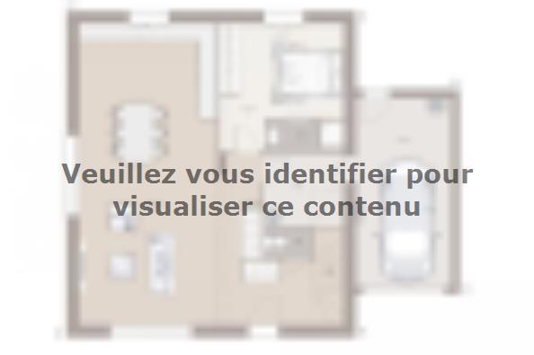 Plan de maison Family Evolution 110GA Tradition 4 chambres  : Photo 1