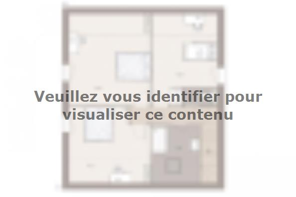 Plan de maison Family Evolution 110GA Tradition 4 chambres  : Photo 2