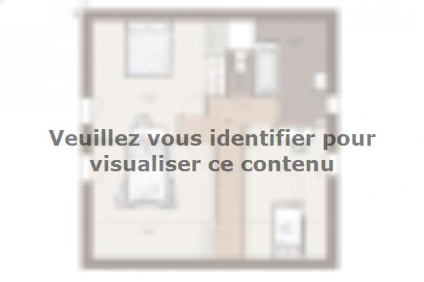 Plan de maison Family Evolution 85GI Tradition 2 chambres  : Photo 2