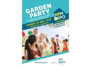 Garden Party au Village Domexpo de Coignières (78) samedi 18 mai