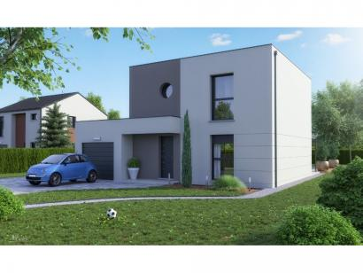Maison neuve  à  Pournoy-la-Grasse (57420)  - 257 300 € * : photo 3