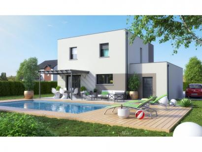Maison neuve  à  Pournoy-la-Grasse (57420)  - 257 300 € * : photo 4